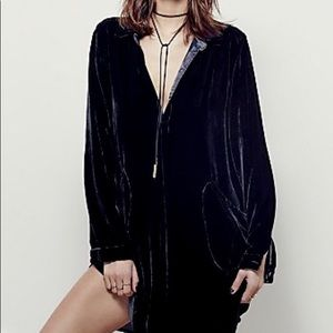 Free People CP Shades It takes two velvet mini